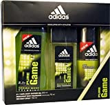 Adidas Pure Game Gift Set 75ml Deodorant + 150ml Body Spray + 250ml Shower Gel
