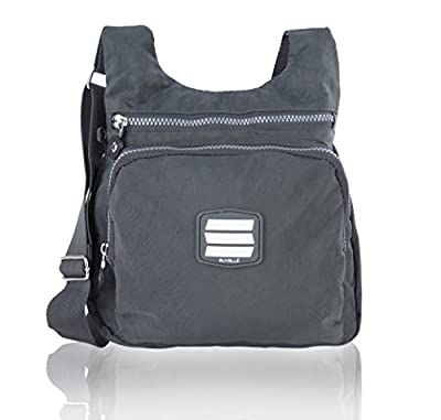 Suvelle City Travel Crossbody Bag, Everyday Shoulder Organizer Purse # 9288