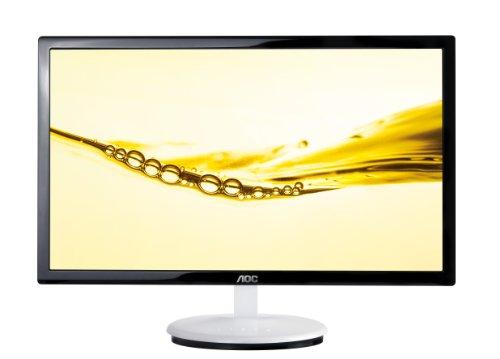 AOC E2243FW Style (21.5 inch) WLED Monitor 1000:1 250cd/m2 1920x1080 DVI (Black/White)