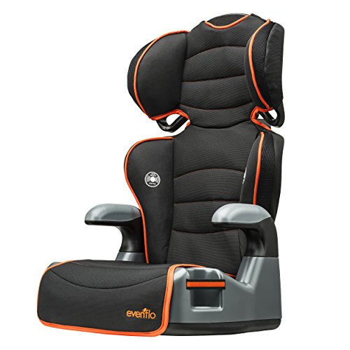 evenflo big kid high back booster car seat orangeade reviews questions answers top rated. Black Bedroom Furniture Sets. Home Design Ideas