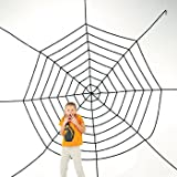 JUMBO 11FT PLUS HALLOWEEN CREEPY SPIDER WEB! by Spookville