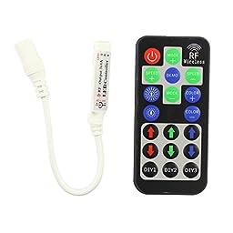 Miyole 19 Key RF Mini RGB Controller 3 Circuit DC5V 12V 24V LED Strip Remote Control