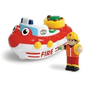 WOW Fireboat Felix - Bath Toys (2 Piece Set)