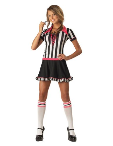 Racy Referee Teen 1-3 Teen Womens Costume