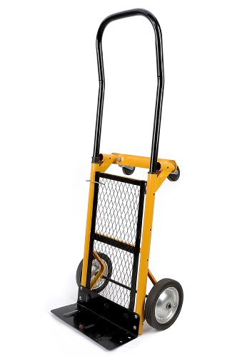 Yellow Convertible Hand Truck Folding Dolly