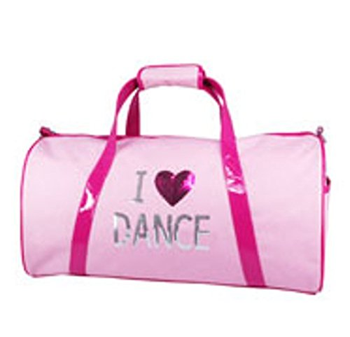 Pink Poppy I Love Dance Carry All Bag front-718473