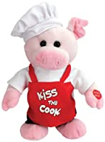 "Chantilly Lane Hamlet Pig Sings Hey Good Lookin' 12"" Plush by Chantilly Lane"