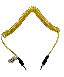 Telephone Design Aux Cable With 3.5mm For Car / Mobiles / iPods