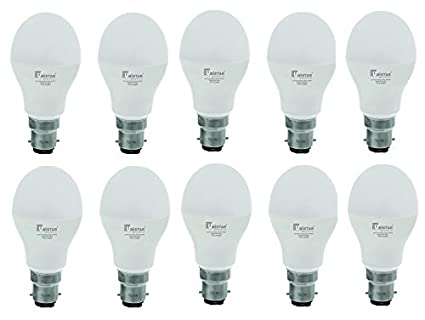 UNISTAR 12W B22 LED Bulb (Cool White, Pack Of 10)