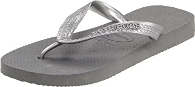 (历史最低)哈瓦那Havaianas 女士人字拖Women's Metallic Flip Flop $10.00 双色