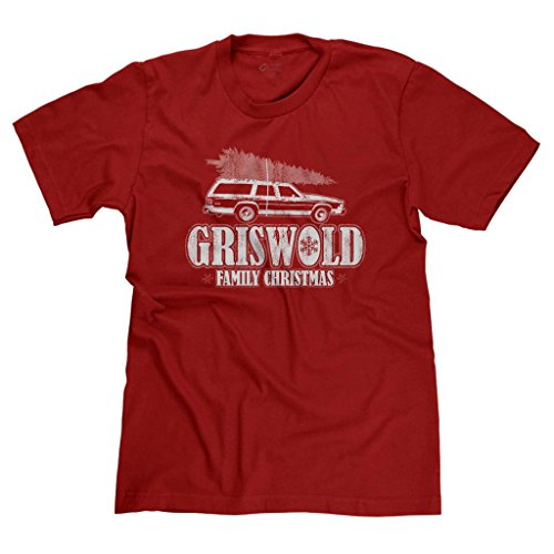 Freshrags Griswold Family Christmas Ugly Sweater T-Shirt 3X Red
