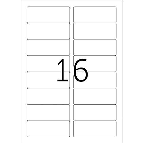Herma 4479 Étiquettes d'adresse 88,9 x 33,8 Premium A4 1600 pièces Blanc