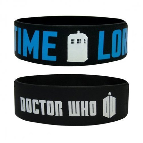 Doctor Who - Rubber Wristband / Bracelet (Time Lord)