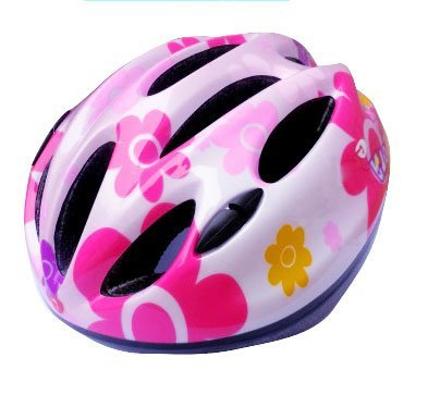 E-TOP Kids Helmet Boys Girls Children Safety Helmet for Bikes Skateboarding Scooters Roller Skate Cycling Bicycle Skating Cycle Helmet, Available in 5 Colours(Pink 1) from E-TOP