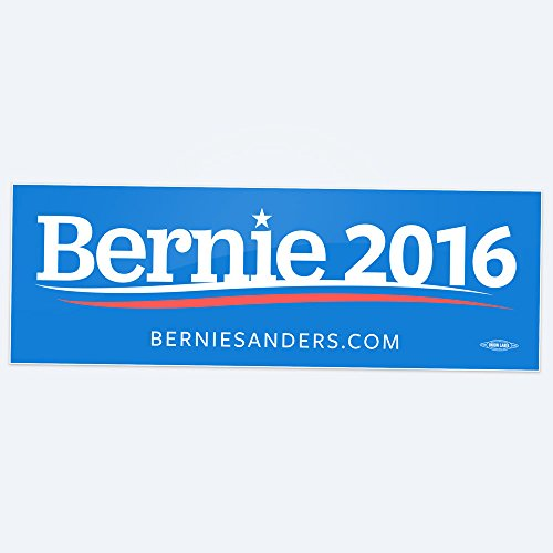 Bernie for President 2016 bumper stickers - (Blue)