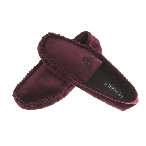 Emporio Armani ,  Pantofole uomo Rosso Bordeaux 40