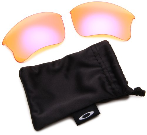 Oakley Oakley Flak Jacket Replacement Lens,Multi Frame/High Intensity Persimmon Lens,One Size