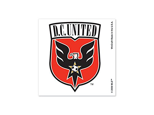 Washington D.C. United Tattoo 4 pack
