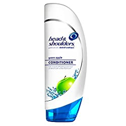 Head & Shoulders Green Apple Dandruff Conditioner 13.5 Fl Oz (Pack of 2) (packaging may vary)