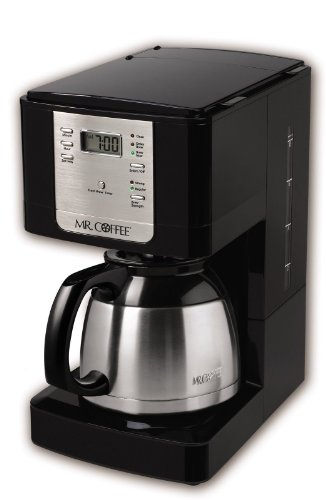 Mr. Coffee Jwtx85 8 Cup Black And Stainless Thermal Coffeemaker