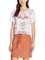 Wildfox Camiseta Manga Corta (Blanco)
