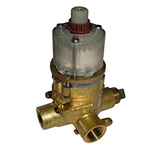 American Standard R127SS27SS Pressure Balanced Rough Valve Body with 1/2 Pex Inlets, Direct Sweat Outlets and Adjustable Water Flow