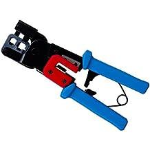 Cablelera Rj11/12/45 Modular Plug Crimp Tool, Ratchet Type (ZL8LEJ-S562)