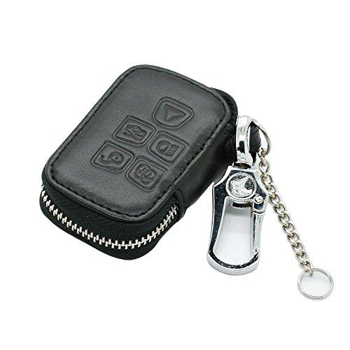 genuine-leather-zipper-bag-key-case-holder-cover-fit-for-jaguar-smart-remote-key-5-button-5710-black