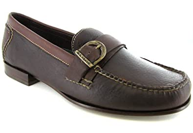 9b204554230 H.S. Trask Mens Taos Brown Loafers size 9 Narrow on PopScreen