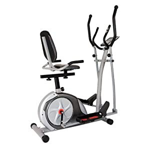 Body Rider 3-in-1 Trio-Trainer, Silver Red by Body Rider