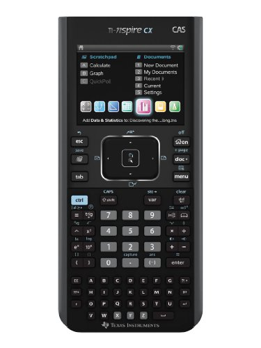 Texas Instruments Nspire CX CAS Graphing Calculator (Texas Instruments Inspire Cas compare prices)