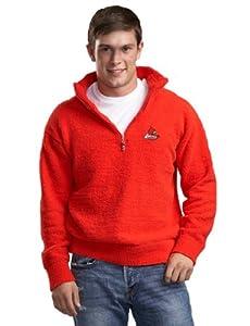 NCAA Louisville Cardinals Kashwere U Half Zip Pullover by Kashwere U