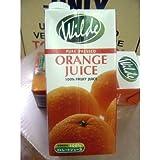 ワイルド ストレートジュース オレンジ 1000ml 12本