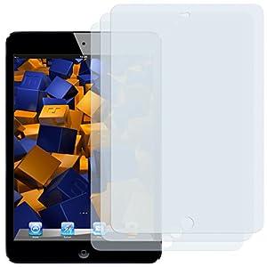 3 x mumbi Displayschutzfolie iPad Mini / iPad mini 2 mit Retina Display (Modell 2013) Schutzfolie
