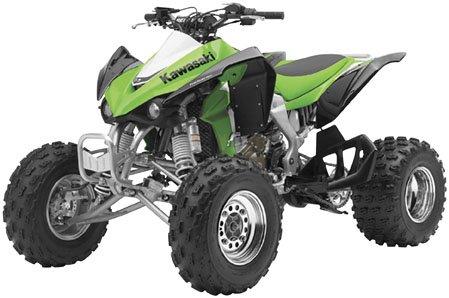 New Ray Toys Kawasaki KFX450 Green 1:12 Scale 43413A