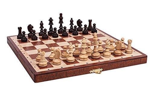 Woodeyland Jeu d'échecs en bois GRAND TOURNOI 3 Chess Set STAUNTON QUALITÉ SUPÉRIEURE!