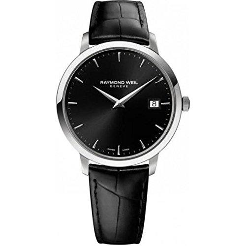 Raymond Weil 5588-STC-20001 39mm Steel Bracelet & Case Anti-Reflective Sapphire Men's Watch