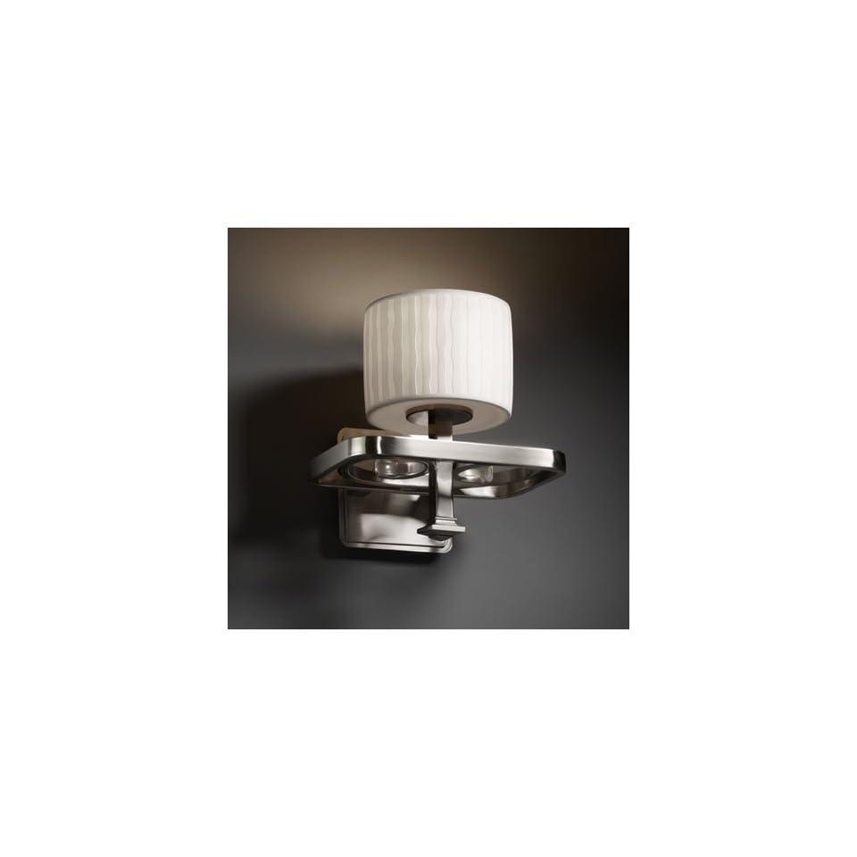 Justice Design Group POR 8561 45 WFAL NCKL Limoges 1 Light