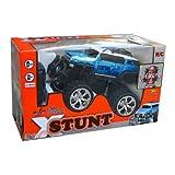 XStunt Radio Controlled 1/14 Scale 360 Spin Stunt Jeep inc. Controller - Blueby XStunt