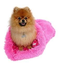 Cozy Sak Plush, Hot Pink Powder Puff