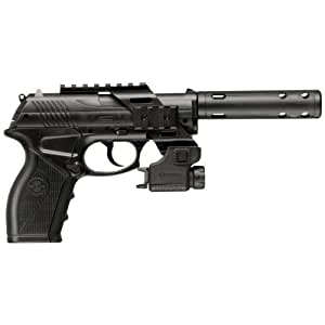 Crosman Tac C11 Air Pistol with Laser and Mock Compensator