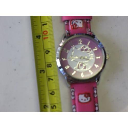 Hello Kitty Quartz Watch Pink Color