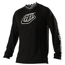 Troy Lee Designs Midnight black (Size: XL) Downhill Jersey