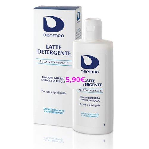Dermon Latte detergente alla vitamina E 200ml
