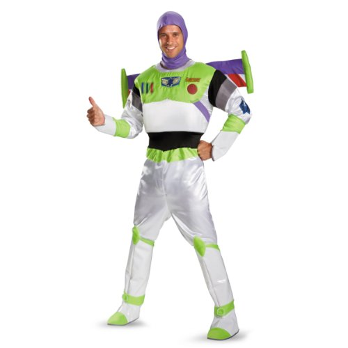 Mens Buzz Lightyear Costume