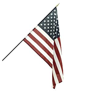 Online Stores Classroom American Flag for Schools, 2 by 3-Feet
