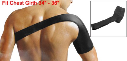 Neoprene Sport Shoulder Magnetic Support Protector M