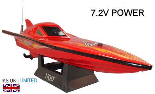 radio controlled speed boat NEW (Red)