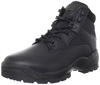 "5.11 Men's A.T.A.C. 6"" Side Zip Boot,Black,4 D(M) US"