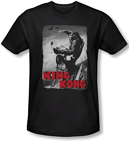 King Kong Poster Planes-Socks-Maglietta a maniche corte